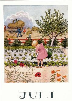 July - Elsa Beskow