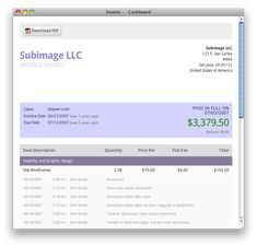 Wave FREE Accounting Invoicing Receipt Organizer And Other - Free invoicing software for small business for service business