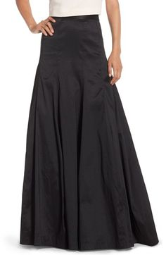 Eliza J Taffeta Floor Length Skirt