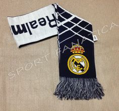 REAL MADRID SCARF Reversible Authentic official licensed product ship from USA   #rhinox #RealMadrid