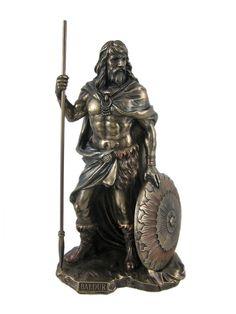 Baldr Bronzed Finish Statuette ($48.99)