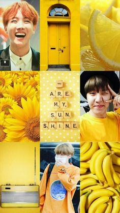 Hoseok Moodboard #Moodboard #yellow #JHope #JungHoseok #BTS #BangtanSoyeondan #Moodboard #Wallpaper #Aesthetic