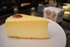 Cheesecake de chocolate blanco de Ben's Coffee