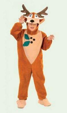 Disfraz de reno para niños: Fotos de varios modelos - Disfraz de reno: Con capucha