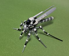 """""""LEGO Mech Mosquito-04"""" by ToyForce 120: Pimped from Flickr"""