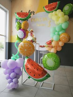 laine Events's Birthday / Tutti Fruitti - Photo Gallery at Catch My Party 2nd Birthday Party For Girl, Girl Birthday Themes, Kids Party Themes, Birthday Party Decorations, Party Ideas, Fruit Decorations, Diy Party, Happy Birthday, Watermelon Birthday Parties