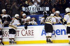 Funny #NHL signs nhl
