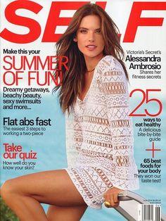 Alessandra Ambrosio - Self Magazine June 2014 Cover