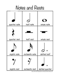 A free printable handout for general music, chorus, band or orchestra. Music Theory Piano, Music Theory Lessons, Music Theory Worksheets, Music Lessons For Kids, Piano Music, Music Music, Reading Sheet Music, Handout, The Lion Sleeps Tonight