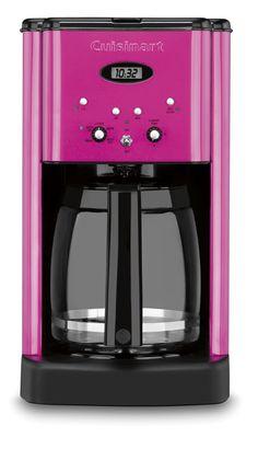 Amazon.co.jp | Cuisinart  クイジナート DCC-1200 Brew Central 12-Cup Programmable Coffeemaker 12カップコーヒーメーカー 【並行輸入品】 (Metallic Pink) | ホーム&キッチン 通販