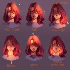 Magical glowy hair is the best. This was a basic lighting reference for myself but decided to post it anyway in case it helps anyone! Its really important to chose a light source in your...