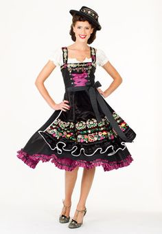 What can I say? Lola Paltinger has nailed the couture dirndl!
