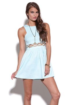 Nameless Caged Mid Section Dress #pacsun I'm in love with this dress!