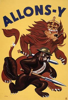 Canadian war poster