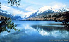 Bowman Lake Campground: at Glacier National Park in Montana-beautiful