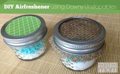 Have a spot that smells like stinky feet instead of fresh sheets? Create this compact DIY Air Freshener Using Downy Unstopables to eliminate odors instantly