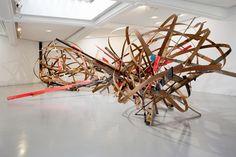 """Arne Quinze - """"Chaos en mouvements"""""""