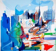 Nadir Afonso (Chaves, 4 de dezembro de 1920 - Cascais, 11 de dezembro de 2013) foi um arquitecto, pintor e pensador português. RIP