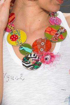 Collier Macaron Piti by Cendrillon Multicolore
