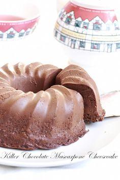 Chocolate Mascarpone Cheesecake