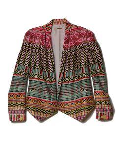 Ikat Rebecca Minkoff Becky Jacket | Rebecca Minkoff Online Store