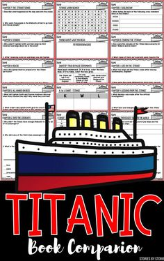 Are your students fascinated by the events of the Titanic? They should read Titanic: A Magic Tree House Fact Tracker. This nonfiction companion has comprehension questions and vocabulary to help guide your students through the book.