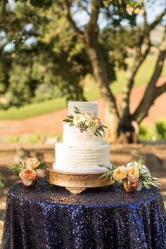 Wedding cake idea; Featured Photographer: Mike Larson Photography