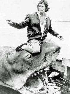 """Spielberg """"tueur de dinosaure"""": la photo qui fait jaser - 7SUR7.be"""