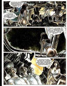 Druuna by Serpieri Roman, Serpieri, Study Architecture, Metal Magazine, Comic Page, Illustrations, Comic Strips, Erotica, Heavy Metal