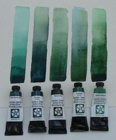 Ds paint -  cascade green compared to other DS greens