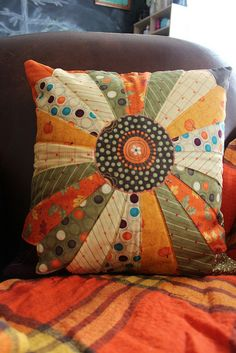 Christmas Present: Pillow Cover for Mom #1 by natalie.leppard, via Flickr