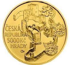 Numismatics | CZ coins | Zlatá mince ČNB 2018 - HRAD RABÍ | Aukro Coins, Personalized Items, Rooms
