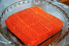 Salmon...a crowd pleaser and one of my favorite things for dinner. Wasabi-mayo recipe on the blog today!