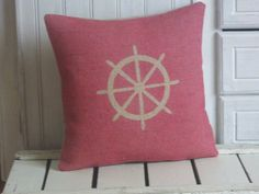 Range of Cushions and Cushion Covers. Handmade in the UK. Patterned Cushions and Personalised Cushions. Personalised Cushions, Ship Wheel, Printed Cushions, Cushion Covers, Creative Business, Personalized Gifts, Nautical, Unique Gifts, House Design