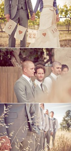 I like the suit jacket only on the groom