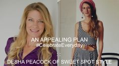 How Does Desha Peacock Of Sweet Spot Style #CelebrateEveryday - video interview Businesss women will love this refreshing take on creating your sacred space. @deshapeacock