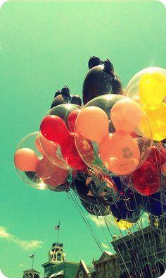 balloons! #balloons #disney