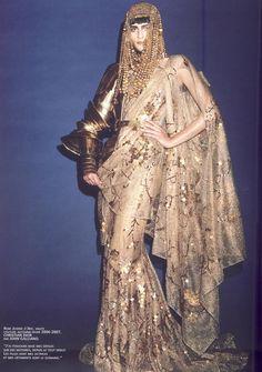 "John Galliano for Christian Dior Fall Winter 2006 Haute Couture ""Galliano fait son cinema"" by Philip Gay"
