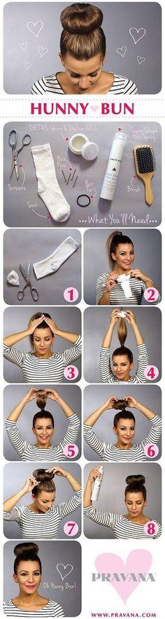 how-to-sock-bun-hacks-tips-tricks.jpg (400×1500)
