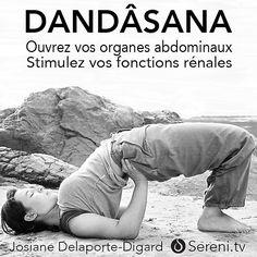 Dandasana est une posture de Yoga pour stimuler les reins par compression et pour appeler plus de sang dans les organes abdominaux. Pensez toujours à allonger la respiration, longue et profonde, pour augmenter les effets internes. Ne forcez jamais, découvrez l'effort juste, ni trop, ni trop peu. Josiane Delaporte-Digard vous aide à travers des postures de yoga ou de bioRégulation à revitaliser votre corps.