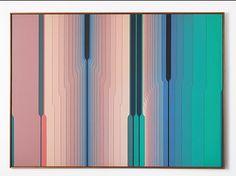 A obra de Abraham Palatnik (1928) caracteriza-se por uma qualidade inegável: permite não só observar as passagens do moderno ao contemporâneo, mas também reconhecer uma das primeiras associações entre arte e tecnologia no mundo. Esta exposição retrospectiva ultrapassa os limites … Continuar lendo → Op Art, Deco Paint, Hanging Paintings, Work Images, Album Cover Design, Artistic Installation, Contemporary Artwork, Hanging Pictures, Science Art