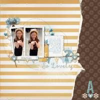 digiscrap layout by Chrissy :-)