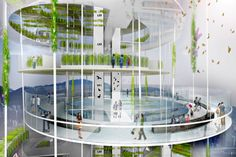 Dynamic Vertical Farm Networks Could Provide More Space for ...