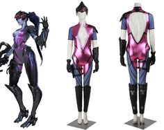 Overwatch Widowmaker Cosplay Costume Custom Made in Clothing, Shoes & Accessories,Costumes, Reenactment, Theater,Costumes | eBay