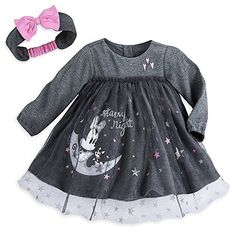 Disney Minnie Mouse Layette Dress for Baby Size 1824 MO -- More info could be found at the image url.