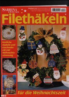 Filethäkeln für Weihnachten - - Barbara H. - Picasa-Webalben