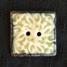 Ceramic Button Translucent Porcelain by vika on Etsy, $14.00