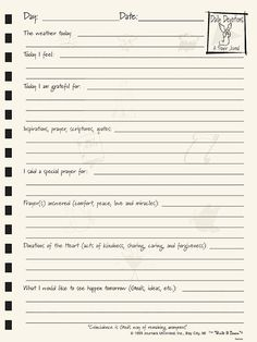 prayer journal pages - Google Search