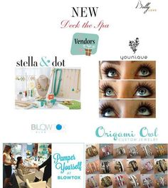 Really excited to announce the new vendors attending Deck the Spa at Belly Love! Stella and Dot, Younique, and Origami Owl Living Lockets will be setting up Pop Up Shops! You will also have the opportunity to get your hair styled by the one and only blow-dry bar, Blowtox ! Please RSVP as space is limited. Email: info@ll-scene.com or call 954-228-4772!