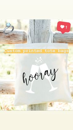 Give your guest a gift they will love. Printed Tote Bags, Canvas Tote Bags, Custom Tote Bags, Custom Wedding Gifts, Wedding Favors For Guests, Customized Gifts, Wedding Decorations, Bridesmaid, Trending Outfits